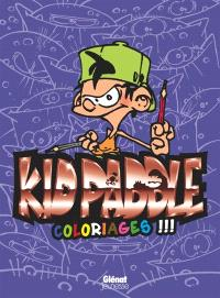Kid Paddle : coloriages !!!