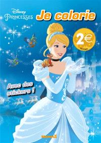 Disney princesses : je colorie
