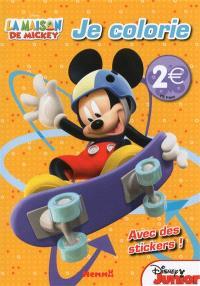 La maison de Mickey : je colorie