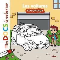 Les voitures : coloriage