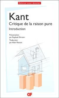 Critique de la raison pure : introduction
