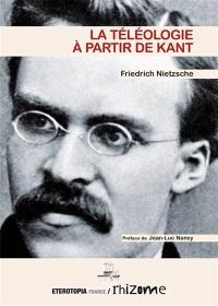 La téléologie à partir de Kant