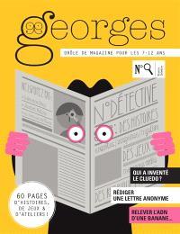 Georges : drôle de magazine pour enfants. n° 26, Détective