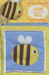 Jaune : mon livre hochet coloré = Geel : baby's dierenboekje