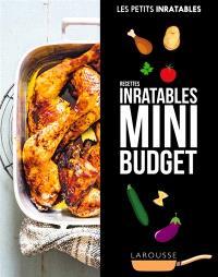 Mini budget : recettes inratables