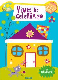 Maison : vive le coloriage