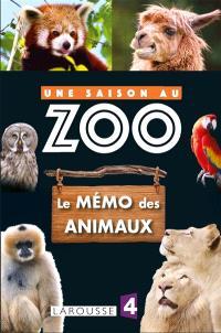 Le mémo des animaux : une saison au zoo