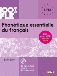 Phonétique essentielle du français : B1-B2