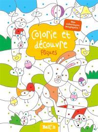 Colorie et découvre Pâques : des coloriages magiques !