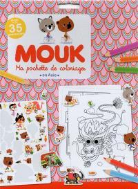 Mouk en Asie : ma pochette de coloriages