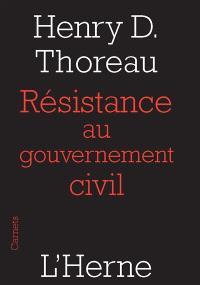 Résistance au gouvernement civil