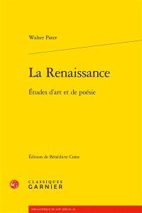 La Renaissance : études d'art et de poésie