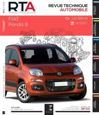 Revue technique automobile. n° 808, Fiat Panda III : 1.2i 69 ch : 01-2012