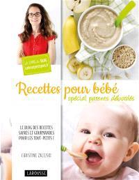 Recettes pour bébés : spécial parents débordés