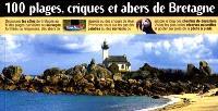 100 plages, criques et abers de Bretagne