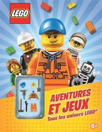 Aventures et jeux : tous les univers Lego