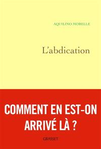 L'abdication