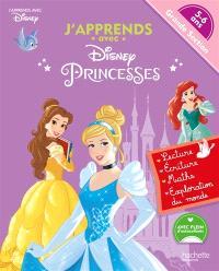 J'apprends avec Disney princesses : grande section, 5-6 ans