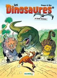 Les dinosaures en bande dessinée. Volume 1