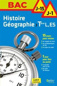 Histoire géographie terminale L, ES