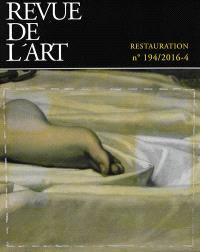 Revue de l'art. n° 194, Restauration