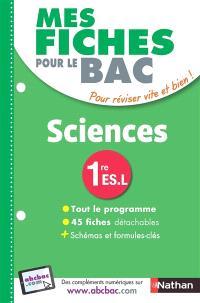 Sciences, 1re ES, L