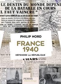 France 1940 : défendre la République