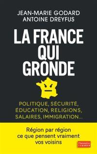 La France qui gronde : politique, sécurité, éducation, religions, salaires, immigration...