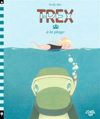 T.rex à la plage