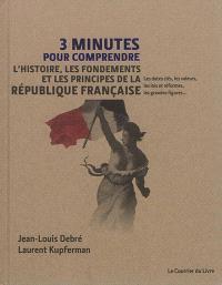 3 minutes pour comprendre l'histoire, les fondements et les principes de la République française : les dates clés, les valeurs, les lois et réformes, les grandes figures...