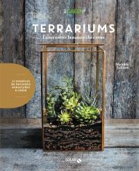 Terrariums : faites entrer la nature chez vous : 21 modèles de paysages miniatures à créer