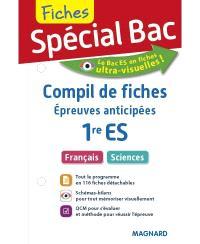 Compil de fiches, épreuves anticipées 1re ES : français, sciences