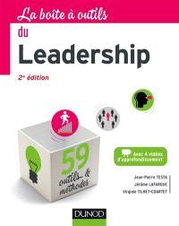 La boîte à outils du leadership : 59 outils & méthodes
