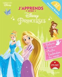 J'apprends avec Disney princesses : moyenne section, 4-5 ans