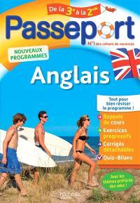 Passeport anglais, de la 3e à la 2de : nouveaux programmes