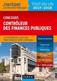 Concours contrôleur des finances publiques 2017-2018 : tout-en-un