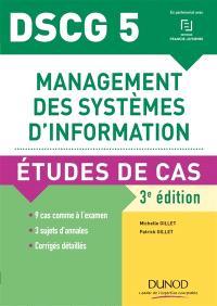 DSCG 5, management des systèmes d'information : études de cas