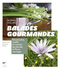 Balades gourmandes : reconnaître, cueillir et cuisiner les plantes et fleurs sauvages