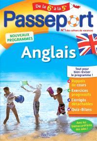 Passeport anglais, de la 6e à la 5e : nouveaux programmes