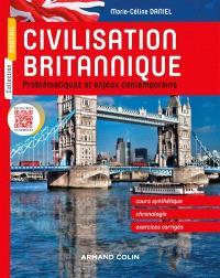 Civilisation britannique : problématiques et enjeux contemporains