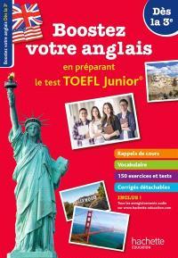 Boostez votre anglais en préparant le TOEFL junior !