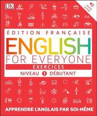 English for everyone, niveau 1 débutant : exercices