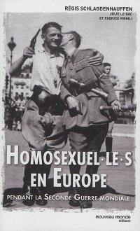 Homosexuel-le-s en Europe pendant la Seconde Guerre mondiale