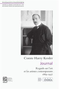 Journal : regards sur l'art et les artistes contemporains : 1889-1937