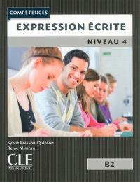 Expression écrite : niveau 4, B2