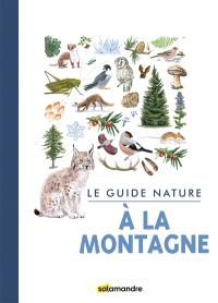 Le guide nature à la montagne