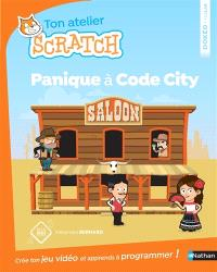 Ton atelier Scratch : panique à Code City