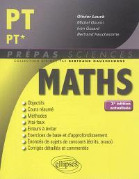 Maths PT, PT*