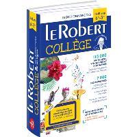 Le Robert collège & son dictionnaire numérique enrichi, 100 % interactif pour PC, Mac ou tablettes : le dictionnaire des 11-15 ans, 6e-3e