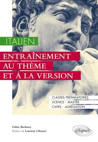 Italien : entraînement au thème et à la version